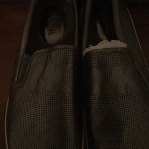 Silver brand new Michael Kors Slip On Shoes